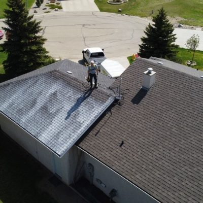 new roof rejuvenation project in airdrie