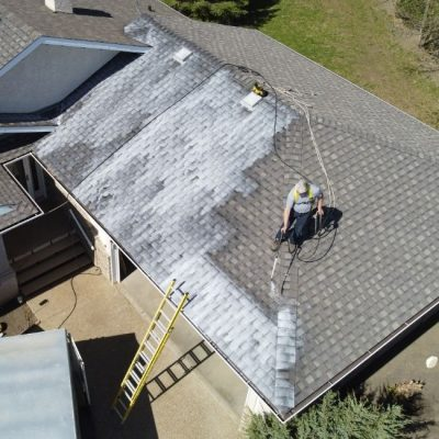 new roof rejuvenation project in sylvan lake