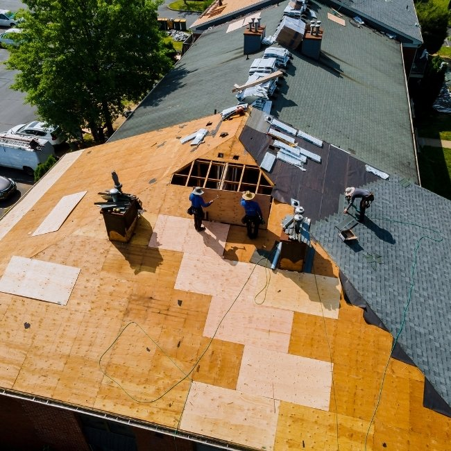 roof replacement in calgary service