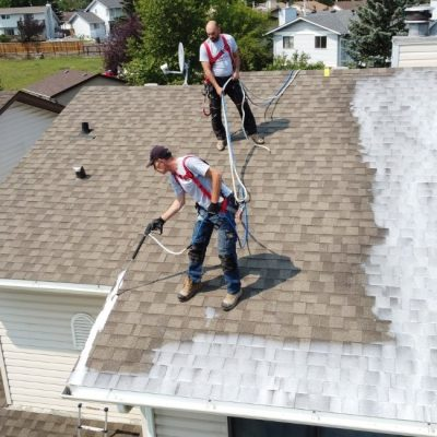 roof rejuvenation calgary project
