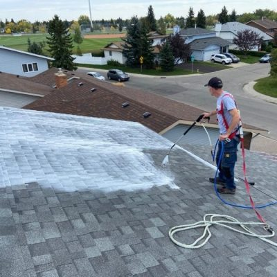 New calgary roof rejuvenation project.