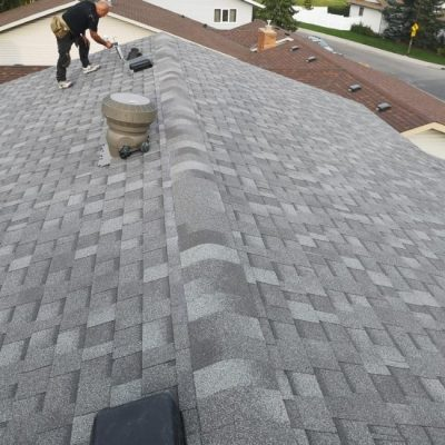 roof replacement project in Calgary