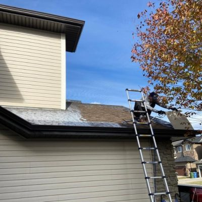 roof patching and rejuvenation in calgary project
